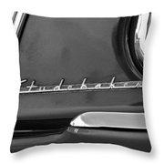 1953 Studebaker Champion Starliner Side Emblem Throw Pillow