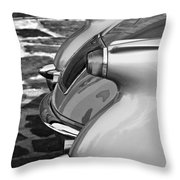 1954 Chevrolet Corvette Taillights -304bw Throw Pillow