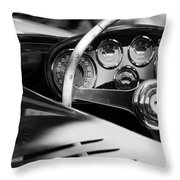 1954 Ferrari 500 Mondial Spyder Steering Wheel Emblem Throw Pillow