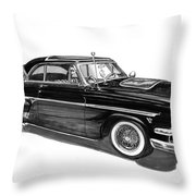 1954 Ford Skyliner Throw Pillow