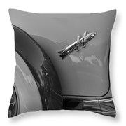 1954 Hudson Hornet Throw Pillow