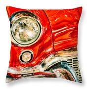 1955 Buick Century Throw Pillow