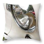 1955 Buick Special Headlight Throw Pillow