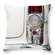 1955 Buick Special Tail Light Throw Pillow