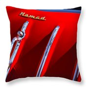 1955 Chevrolet Belair Nomad Hood Ornament -559c Throw Pillow