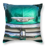 1955 Chevrolet First Series Throw Pillow