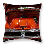 1955 Chevrolet Truck-american Classics-front View Throw Pillow