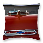 1955 Chevy Bel Air Throw Pillow