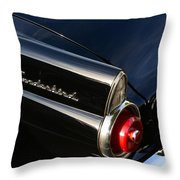1955 Ford Thunderbird Throw Pillow