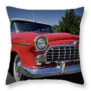 1955 Hudson Wasp Throw Pillow