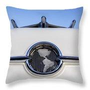 1955 Oldsmobile Throw Pillow