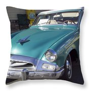 1955 Studebaker Coupe 1 Throw Pillow