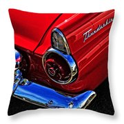 1955 Thunderbird Throw Pillow