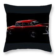 1956 Buick Special Throw Pillow