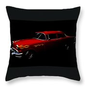 1956 Buick Throw Pillow