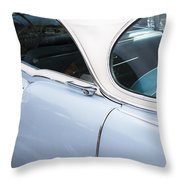 1956 Cadilac Sedan De Ville Throw Pillow