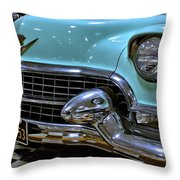 1956 Cadillac Lasalle Throw Pillow