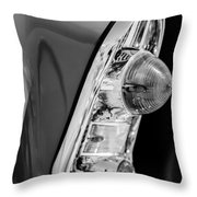1956 Chevrolet 210 2-door Handyman Wagon Taillight -090bw Throw Pillow