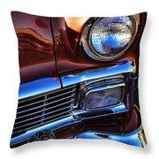 1956 Chevrolet Bel Air Throw Pillow