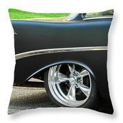 1956 Chevrolet Rear Emblem Throw Pillow