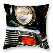 1956 Chevy Bel Air Head Light Throw Pillow