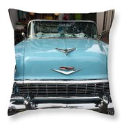 1956 Chevy Bel-air Throw Pillow