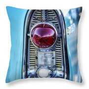 1956 Chevy Bel-air Taillight  Throw Pillow