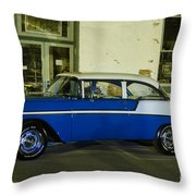 1956 Chevy Bel Air Throw Pillow