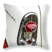 1956 Chevy Taillight Throw Pillow
