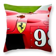 1956 Ferrari 410 Sport Scaglietti Spyder Throw Pillow