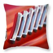 1956 Ford Thunderbird Emblem -278c Throw Pillow
