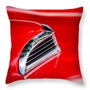 1956 Ford Thunderbird Hood Scoop -287c Throw Pillow