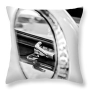 1956 Ford Thunderbird Latch -417bw Throw Pillow