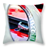 1956 Ford Thunderbird Latch -417c Throw Pillow