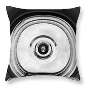 1956 Ford Thunderbird Spare Tire Emblem Throw Pillow