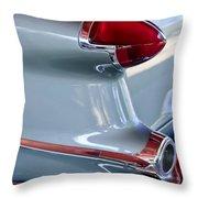 1956 Oldsmobile Taillight Throw Pillow