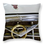 1956 Packard Caribbean Headlight Grill Throw Pillow