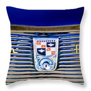 1956 Studebaker Golden Hawk Emblem Throw Pillow