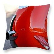 1957 Chevrolet Corvette Taillight Throw Pillow