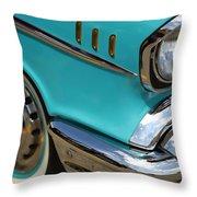 1957 Chevy Bel Air Throw Pillow