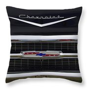1957 Chevy Del Ray Throw Pillow