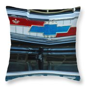 1957 Chevy Front Throw Pillow