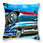 1957 Chevy Grille Throw Pillow