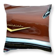1957 Chevy II Throw Pillow
