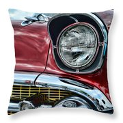 1957 Chevy - My Classic Car Throw Pillow