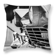 1957 Ford Fairlane Grille -205bw Throw Pillow