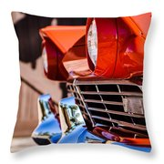 1957 Ford Fairlane Grille -205c Throw Pillow