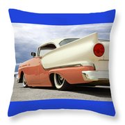 1957 Ford Fairlane Lowrider Throw Pillow