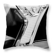 1957 Mercury Monterey Sedan -1030bw Throw Pillow