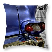1958 Cadillac Deville Taillight Throw Pillow